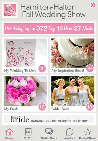 Bridal show app